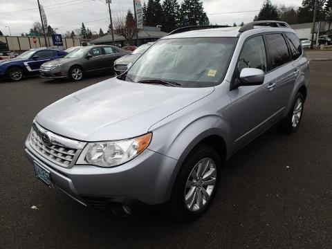 2013 SUBARU FORESTER 4 DOOR SUV