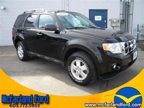 2012 FORD ESCAPE 4 DOOR SUV