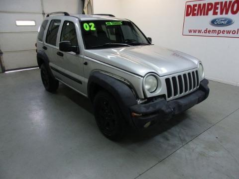 2002 Jeep Liberty 4 Door SUV