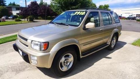 1997 Infiniti QX4 4 Door SUV