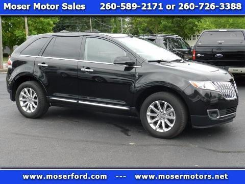 2013 Lincoln MKX 4 Door SUV