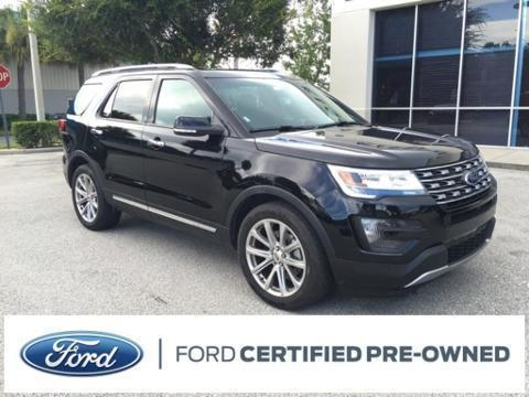 2016 Ford Explorer 4 Door SUV