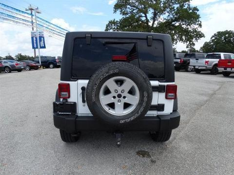 2012 Jeep Wrangler Unlimited 4 Door SUV