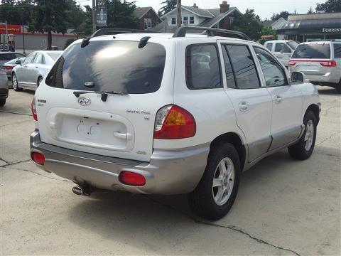 2004 Hyundai Santa Fe 4 Door SUV