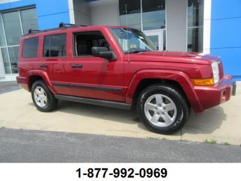 2006 Jeep Commander 4 Door SUV