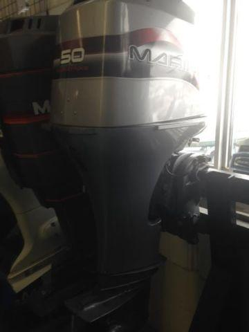 1998 Mariner/Mercury 50 HP 4 stroke dealer serviced.