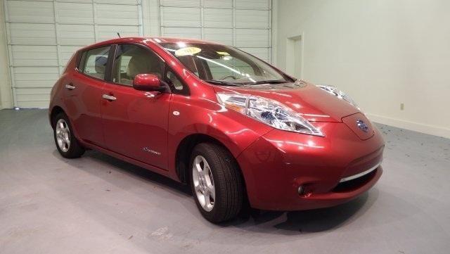 2012 Nissan Leaf 4D Hatchback SL