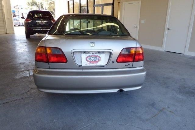 2000 Honda Civic 4D Sedan LX