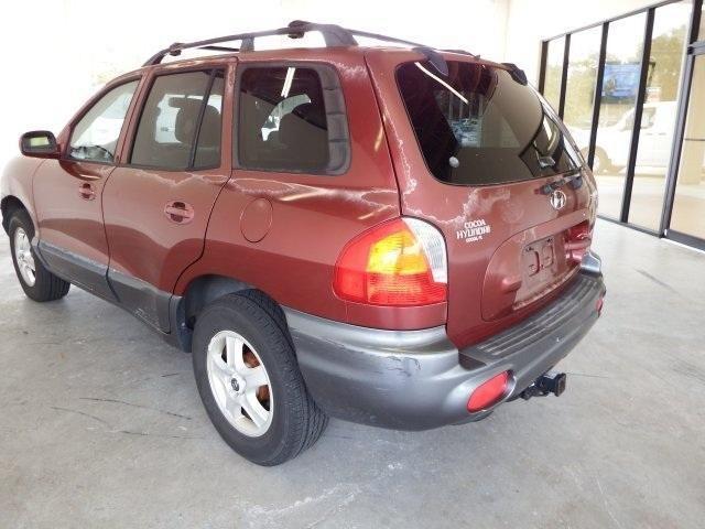 2003 Hyundai Santa Fe 4D Sport Utility GLS