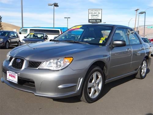 2007 SUBARU Impreza Sedan Sedan 4DR H4 AT I