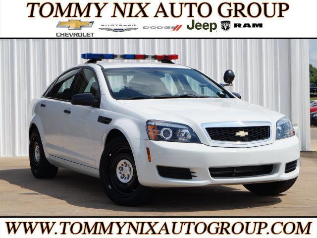 2014 Chevrolet Caprice Police 4dr Sedan w/1SB Police