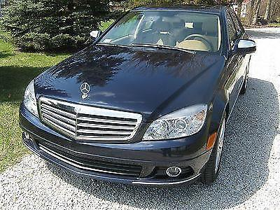 2008 Mercedes Benz C300 4MATIC with low miles