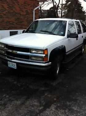 1997 chevy suburban lt 1500 4wd st louis mo for sale. Black Bedroom Furniture Sets. Home Design Ideas