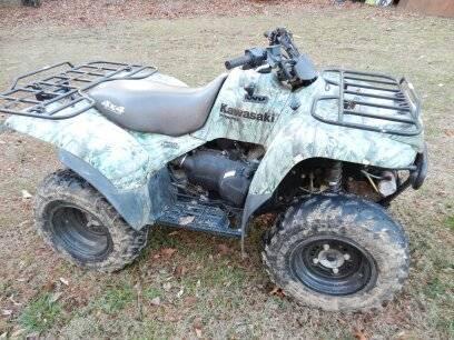2007 Kawasaki Prairie 360 4x4 - Camo