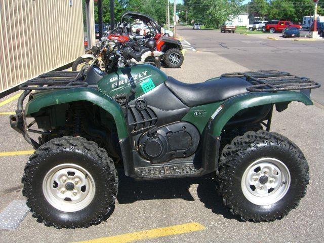 2011 Yamaha Grizzley 550 FI