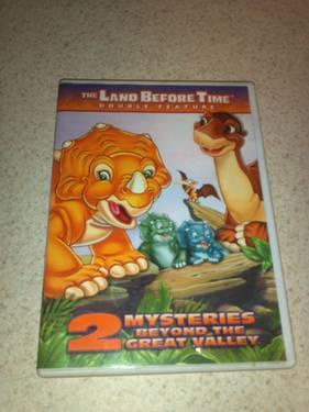 The Land Before Time Volume 5 -The Mysterious Island DVD