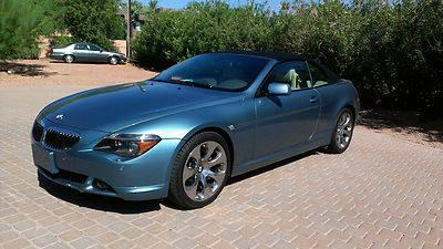 2005 bmw 645ci convertible for sale in glendale arizona. Black Bedroom Furniture Sets. Home Design Ideas