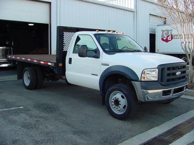 2006 Ford F550 12' Flatbed 6.0 Diesel 86K Miles
