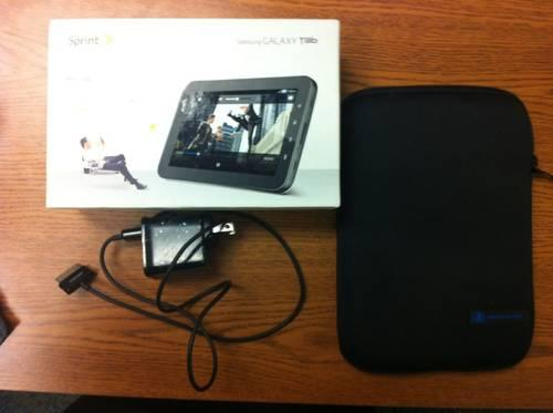 SPRINT - Galaxy Tab 7inch & Case