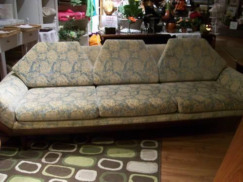 Reduced - Originally $1,400 - Now $800 Mid Century Gondola Sofa