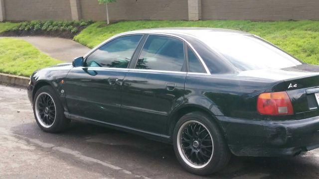 Beautiful black Audi A4 Quattro