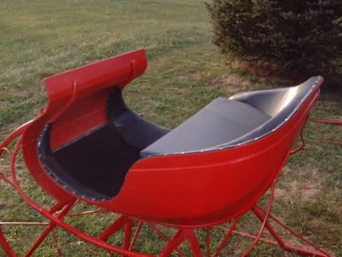 The ultimate Holiday item ? a one horse Sleigh