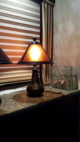 DALE TIFFANY ACCENT LAMPS
