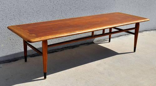 1960s mid century danish modern lane acclaim surfboard for Mid century furniture florida