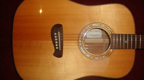 TACOMA PRE-FENDER ACOUSTIC-ELECTRIC DM-18