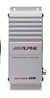 Mono Full Range Center Channel Amplifier for Alphine SBS 0715
