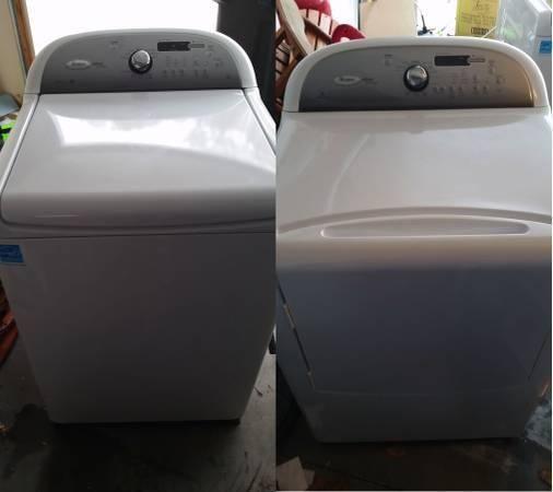 Whirlpool Cabrio Platinum Washer and Dryer Set