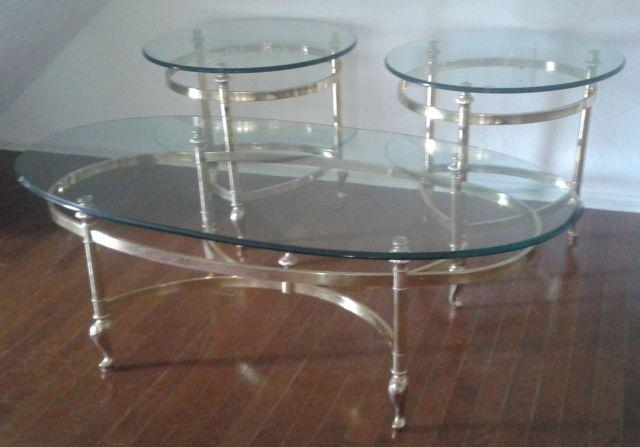 Antique or Vintage you decide - coffee and two end tables - one owner