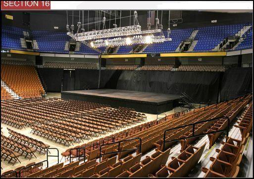 John Legend Tickets Mohegan Sun Arena 8/01/2014 (Uncasville) Lower 16