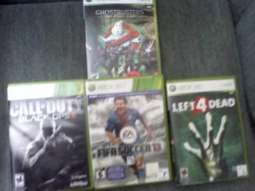 7 Xbox 360 Games AS - IS