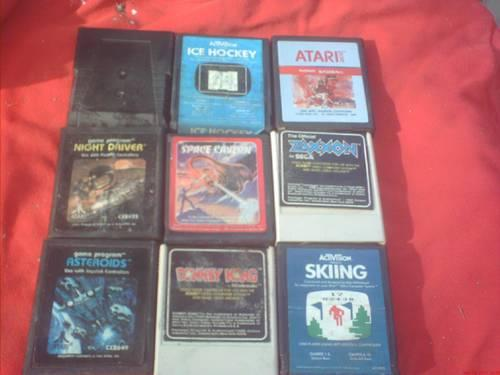 17 vintage atari games