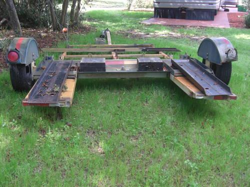 Tandem tow dolly/ auto and motorcycle for Sale in De Bary, Florida