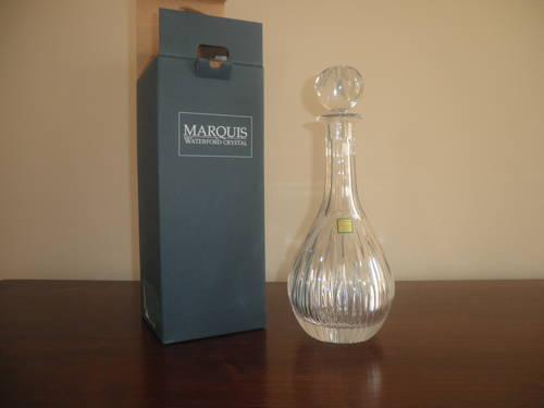 Marquis by Waterford Crystal Barcelona Wine Decanter