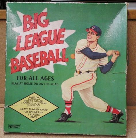 Vintage Big League Baseball Board Game