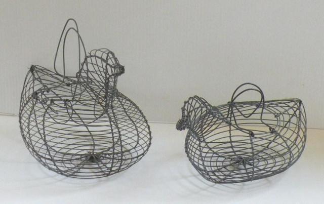 Wire Chicken Baskets