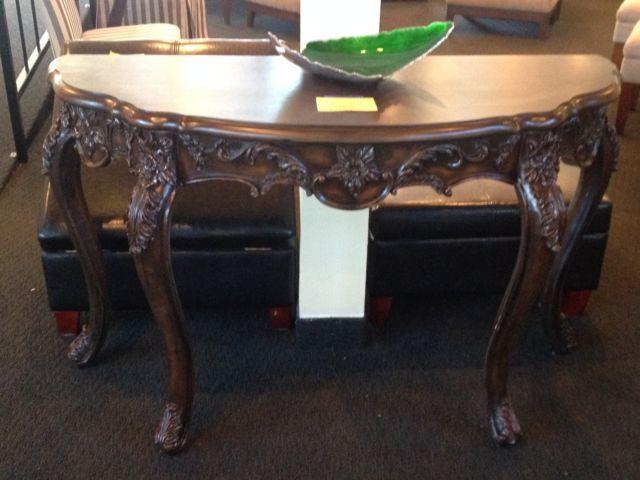 Sofa Table ~ Beautiful Ornate Piece