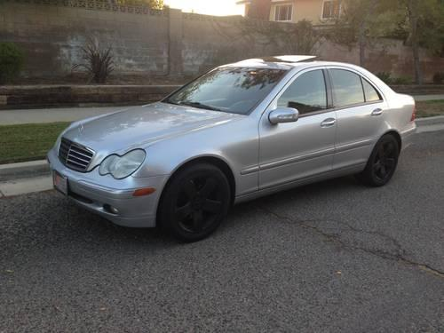 2003 mercedes benz c240 for sale in chatsworth california for Mercedes benz c240 price