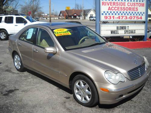 2001 mercedes benz c320 for sale in mcminnville tennessee. Black Bedroom Furniture Sets. Home Design Ideas