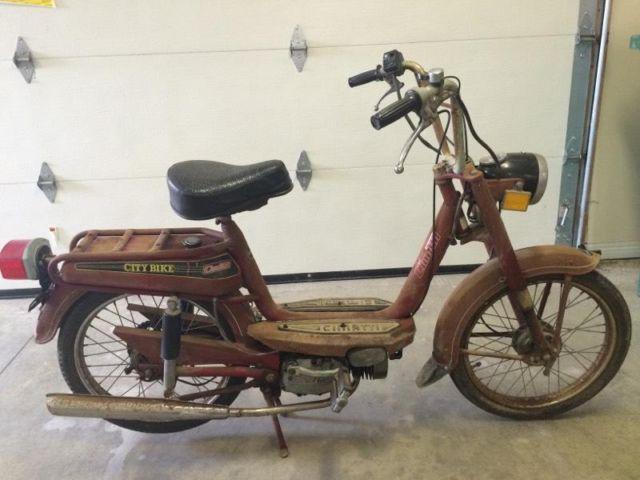 Cimatti City Bike Moped