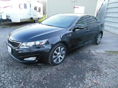 2012 kia optima sx gdi black beauty turbo 10k mi for sale. Black Bedroom Furniture Sets. Home Design Ideas