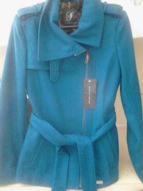 ***PRICE REDUCED*** Sean John Blue Wool Belted Jacket
