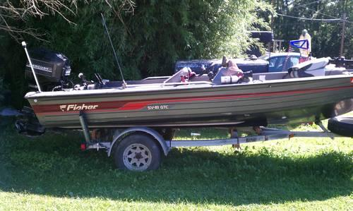 Pelican bass boat for sale in hagerstown maryland for Bass fishing yard sale