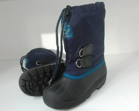 Size 1~boys BOOTS-Snow-Rain-KAMIK-L.L.BEAN*TWINS?*2 pairs