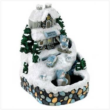 Christmas Music Box Figurines