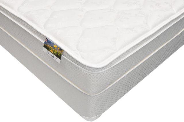 queen size broadlind euro top mattress