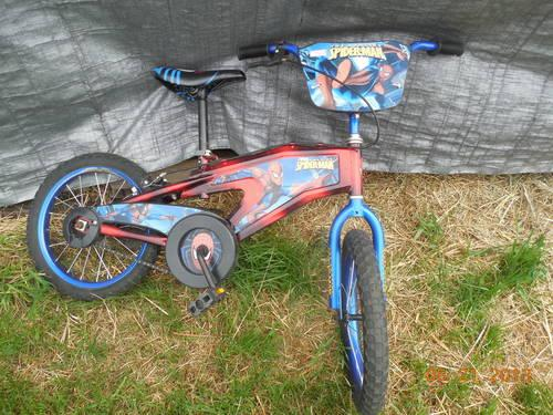 Super SpiderMan Boys Bike